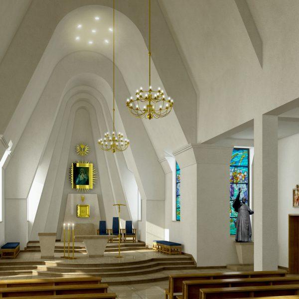 CHURCH ZACZARNIE